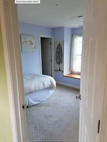 Upstairs Private Bedroom III - Palo Alto - Hus