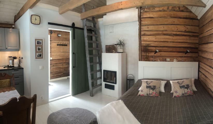 Cosy sauna cottage with a hot tub - Porvoo - Ξυλόσπιτο