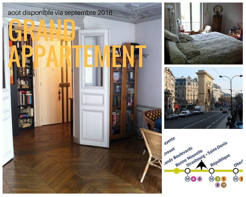 Grand apartment.