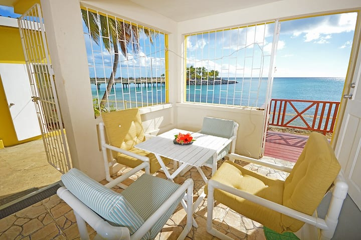 Beachfront and Good Snorkeling, Ground Floor Apt 1