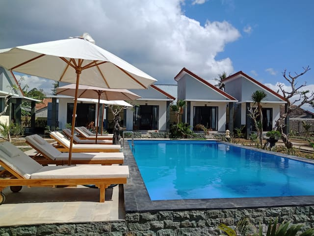 Favorit Bungalows - Double Room with Pool View #2