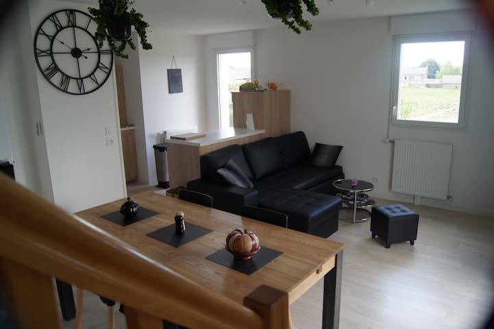Appartement-maison entre terre et mer! - Saint-Méloir-des-Ondes - Apartament