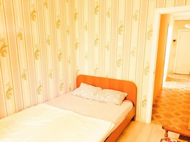 Комната №2 в 3-к рядом с пляжем