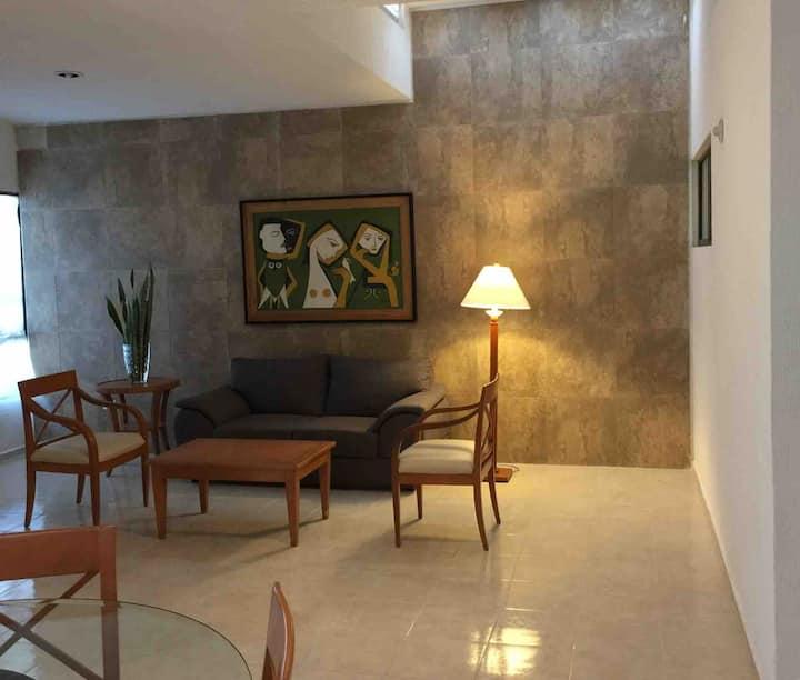 Preciosa casa bellamente decorada y muy equipada.