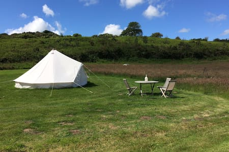 Valentines Glamorous Camping. Bell Tent (No.2)
