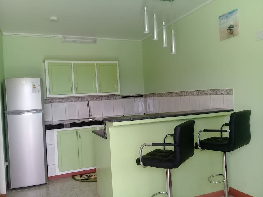 Windsor Apartment, a cozy ground floor apartment is located in a quiet section of the community of Goodwill in Dominica, The Nature Island of the Caribbean.