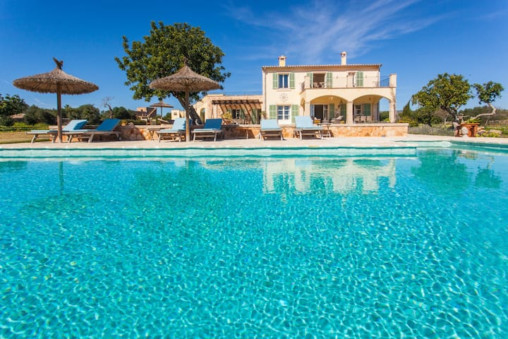 Exclusive & Luxury Villa Son Paulo. 10pax Santanyi