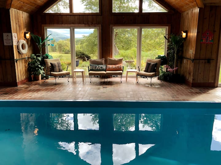 Mettawee Pool House -indoor pool for your use only
