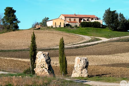 """Apartment with view of Tuscany - """"SOLE"""""""