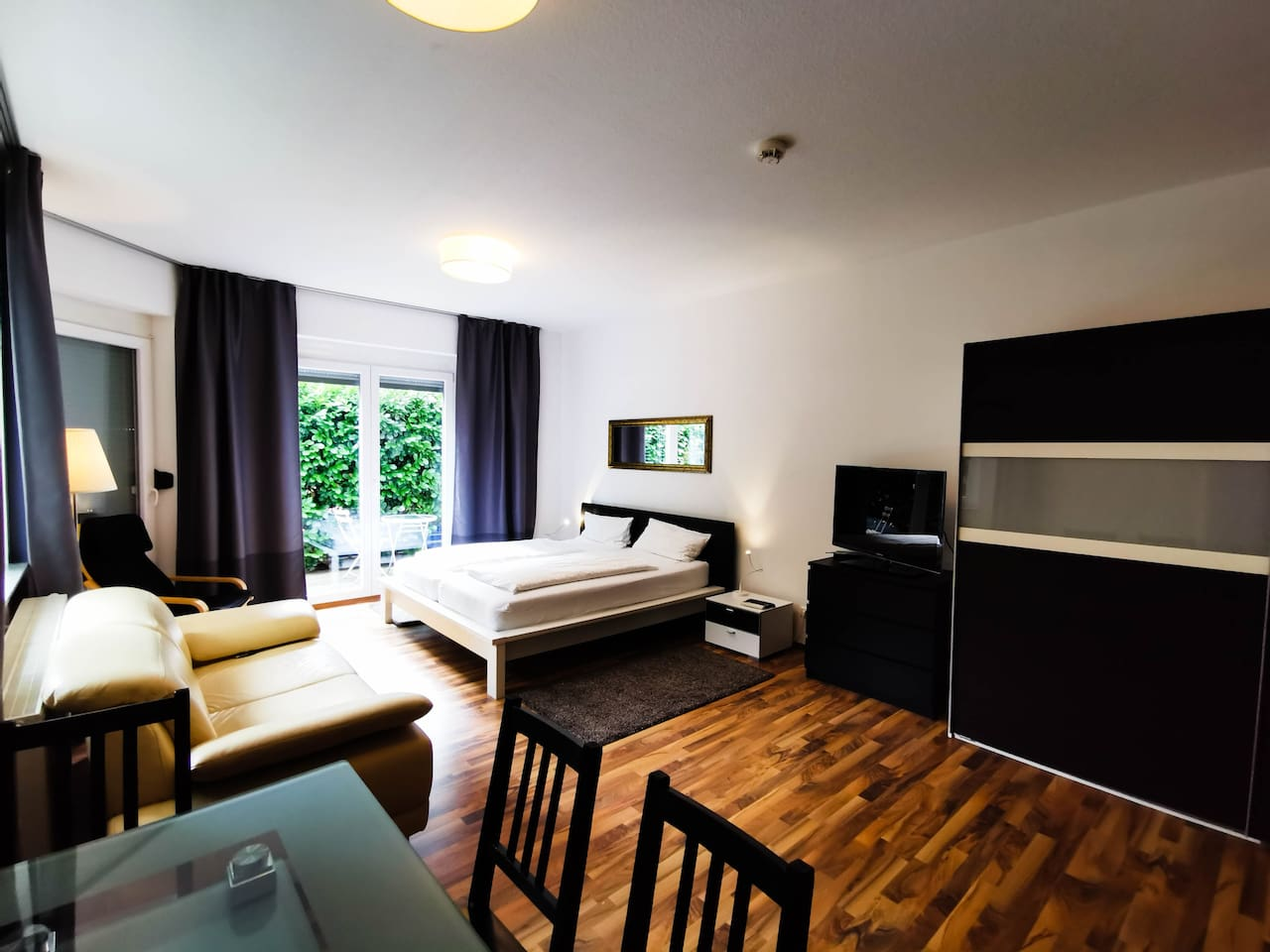 large and spacious studio at city centre of Heidelberg (1)