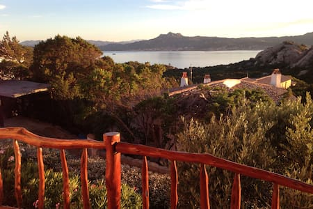 Villa with 180' sea view.  :-) - Baja Sardinia