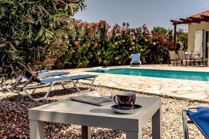 Villa Apollo on the Greek Island of Zakynthos!