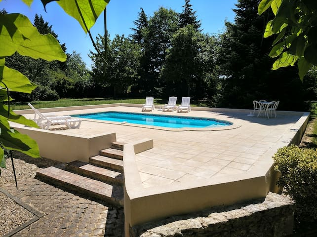 Lodge and Summer House with Private Pool