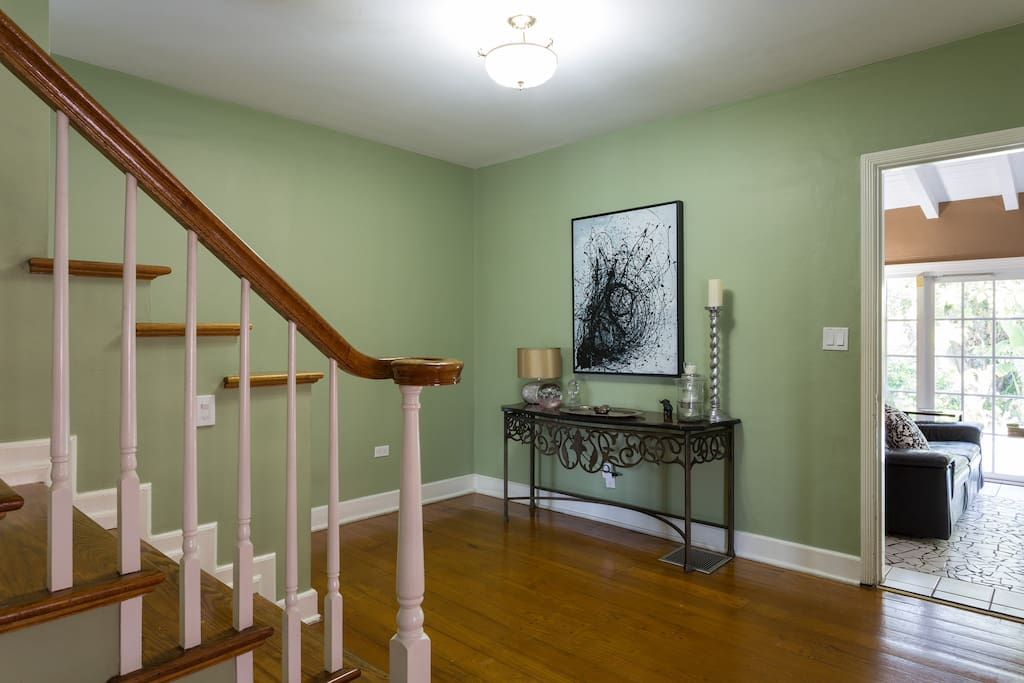 Entry Way and Stairs