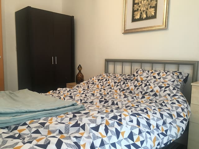 Double Room in Manchester, Salford Quays.