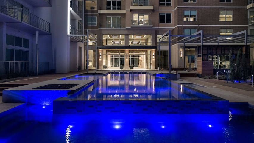 Victory Park 1-Bed with Amazing Amenities