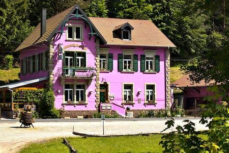 Chambre dans la nature - Garrebourg - Hus