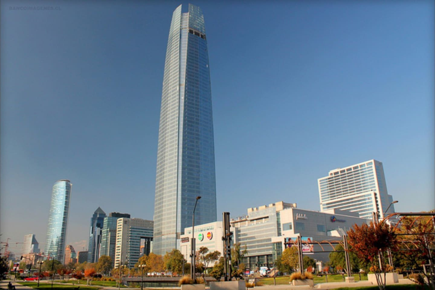 The Costanera Center is located very near us. You have just to walk around the neighborhood and you will find anything you want.