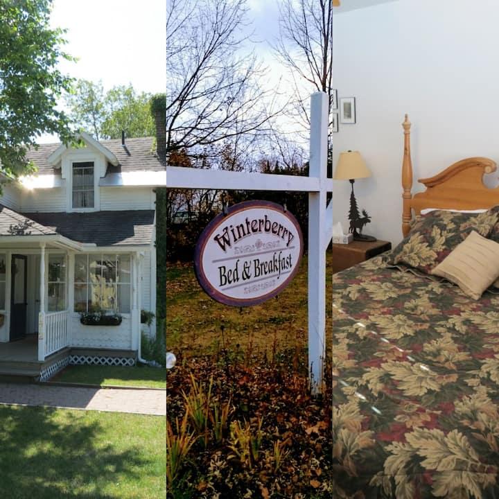 The Adirondack Room at Winterberry B&B