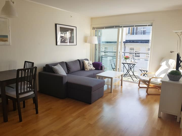 Quiet, spotless and very central 2-room apartment