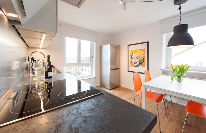 Helles 3-Zimmer-Apartment mit Blick über Bayreuth