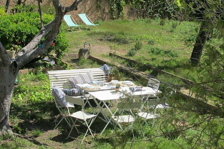 Casa/jardí a poble entre vinyes, Camp de Tarragona -    PUIGPELAT - House