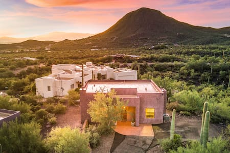 Live the Tucson Life- Panoramic Views -guest home