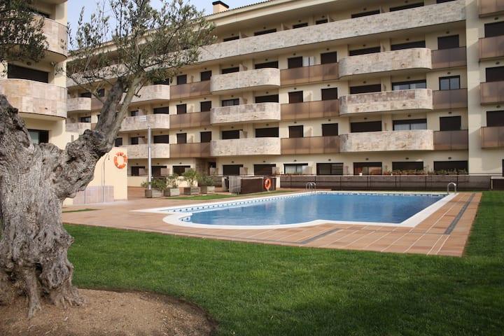 Alojamiento en Fenals cerca de cala Sa Boadella.