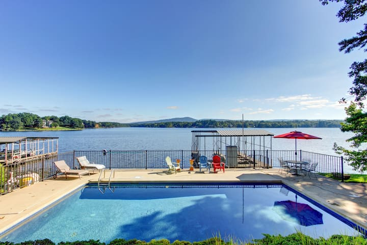 Home w/Pool & Mtn Lake Views!