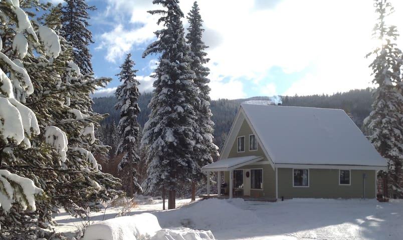 3 Bdrm Cabin in a Winter Wonderland, Princeton BC
