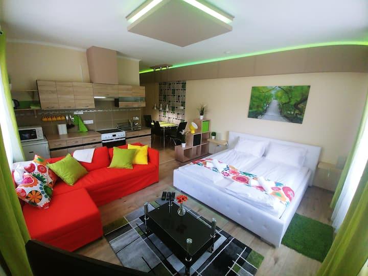 Sarok Apartmanház Green Apartman