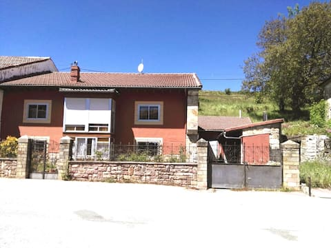 Village house, Cantabria. Kite/windsurfing and skiing