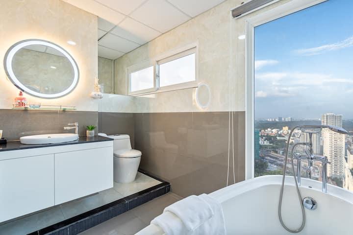 2 căn hộ 6 Phòng ngủ tầng 28 - View trực diện biển