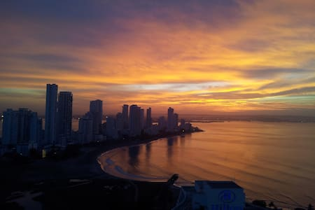 23 FLOOR LOFT - PERFECT APARTMENT FOR COUPLES - Cartagena
