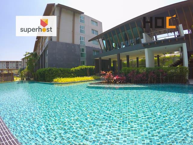 HOC1/4 Sweet Room Chiang Mai University&DoiSuthep - Chiang Mai - Apartamento