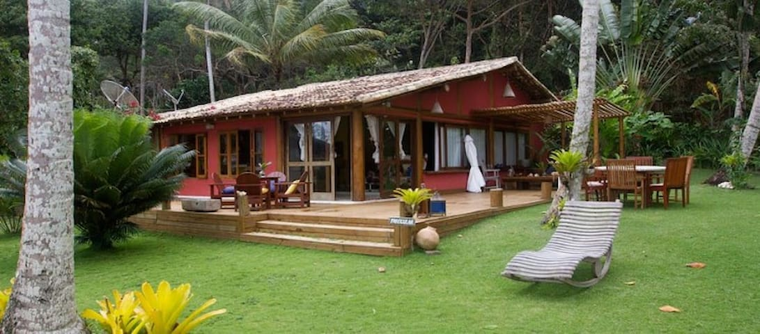 Casa charmosa - Praia do Espelho - Curuípe - Huis