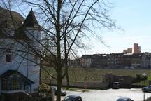 Wohnen am Weinberg in der Stadt