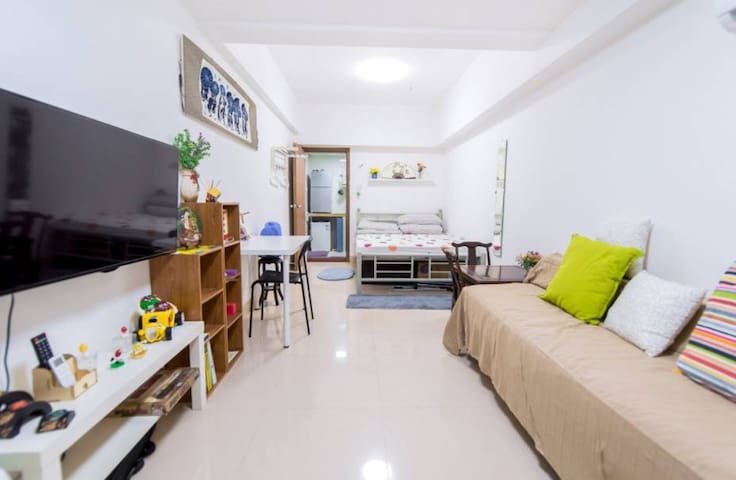 Cozy sweet room in Metro area beside Pearl River - 广州 - Apartment