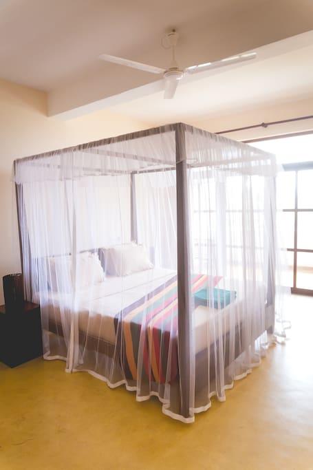 Ocean view double room