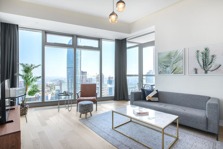 Prime 2BR at 42 Maslak with Pool & City View