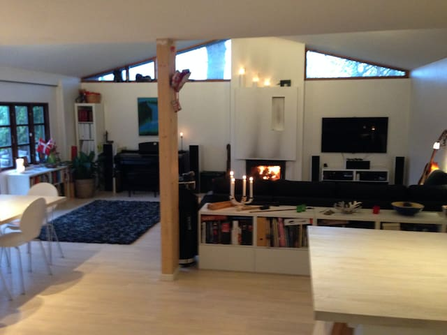 Spacious Familyhouse 30min f. Copenhagen