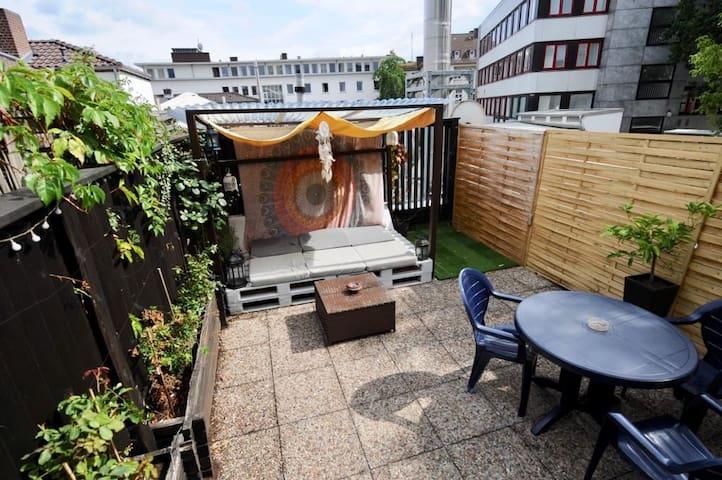 Wohnung im Zentrum von Kassel mit Dachterrasse