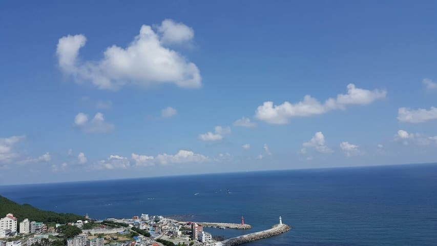 Panoramic OCEANVIEW Garden Retreat 오션뷰 가든하우스 - Haeundae-gu - Villa