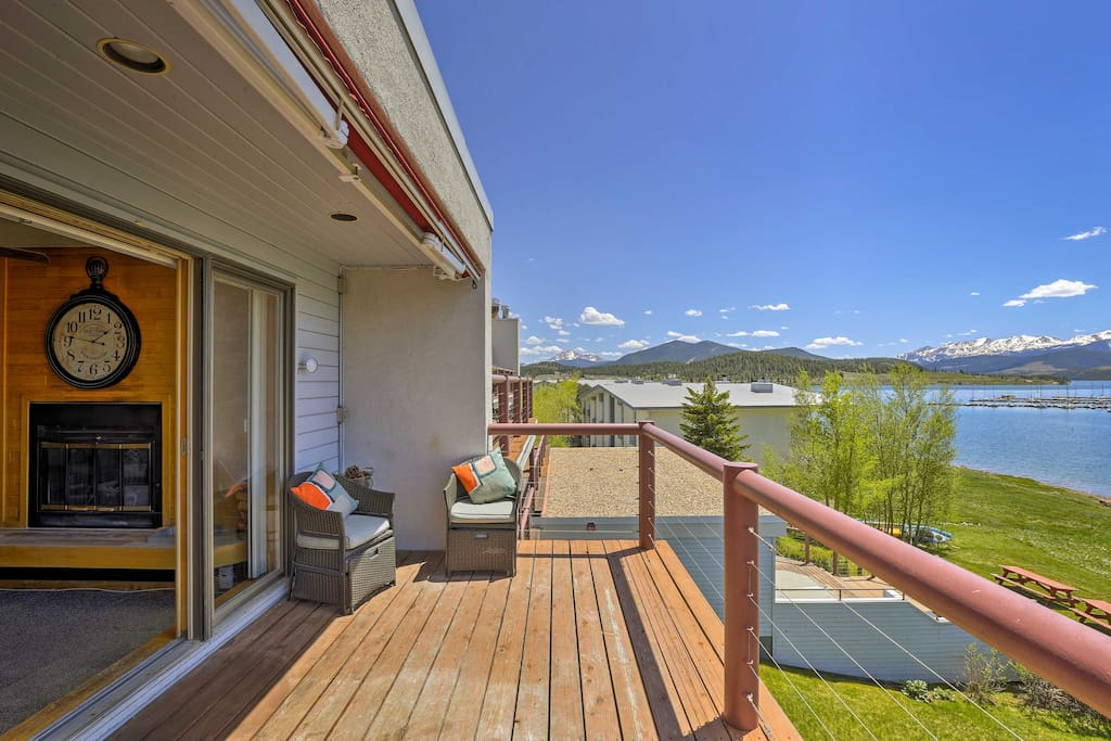 The mountains are calling for you to stay at this Dillon vacation rental condo!