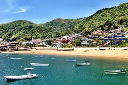 ¡Apartamento de playa frente al mar en Taboga!!