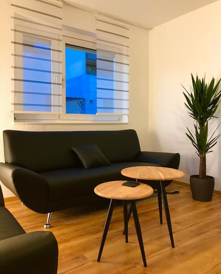 Moderne 2-Zimmer-Wohnung in Stuttgart-Süd
