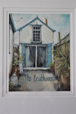The old Boathouse  Port Isaac  Sleeps 2  Sea view