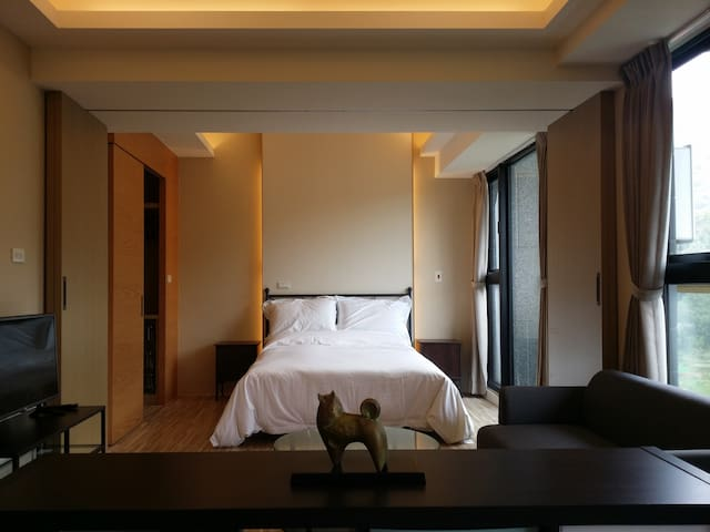 【MRT NeiHu】The Nearest Mountain Suite in Taipei - Neihu District - Wohnung