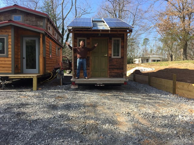 Tiny House for visitors - Asheville - Cabaña