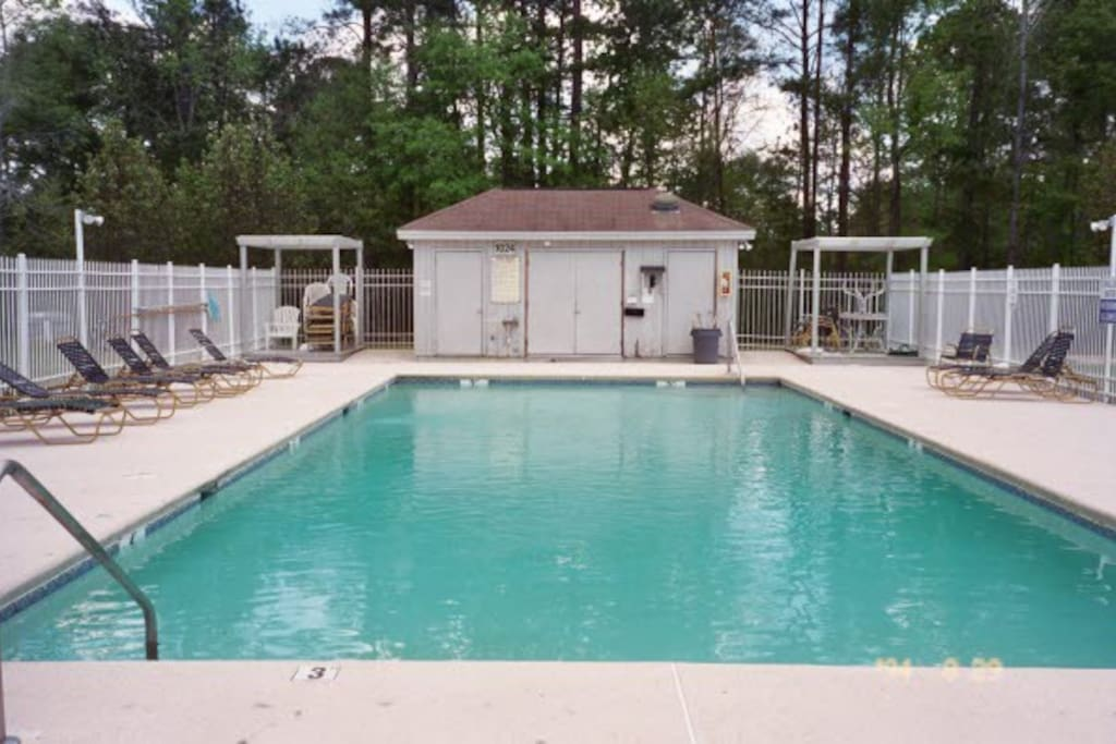 One of two pools with private access for owners and guests
